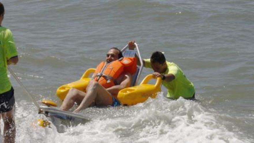 Playas en Málaga para personas con movilidad reducida