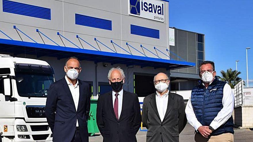 Pinturas Isaval pintará el Medio y Maratón València cuatro años más