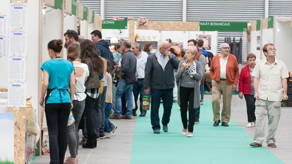 Feria de Ecocultura en Zamora en pasadas ediciones.