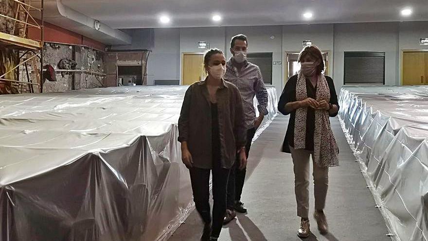 La Vall d'Uixó inicia las obras para reformar el teatro