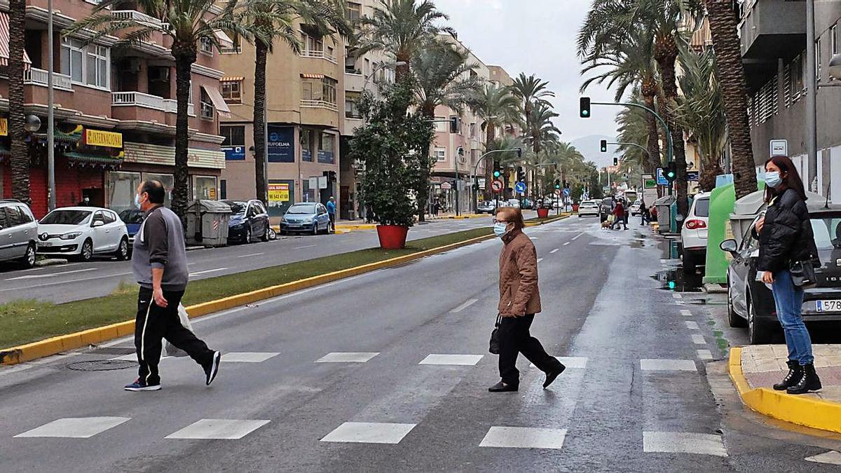 The next works will be in Pedro Juan Perpiñán, Avenida de Alicante and Diagonal.  |