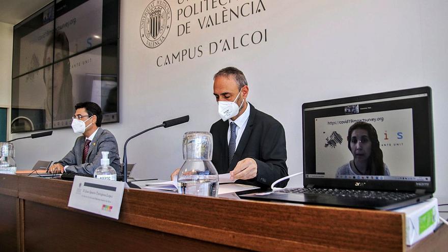 El Campus de Alcoy de la UPV mantendrá parte de la docencia online más allá de la pandemia
