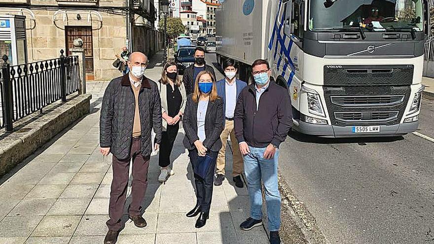 Diputados de Ourense y Pontevedra urgen la reapertura del túnel de Folgoso