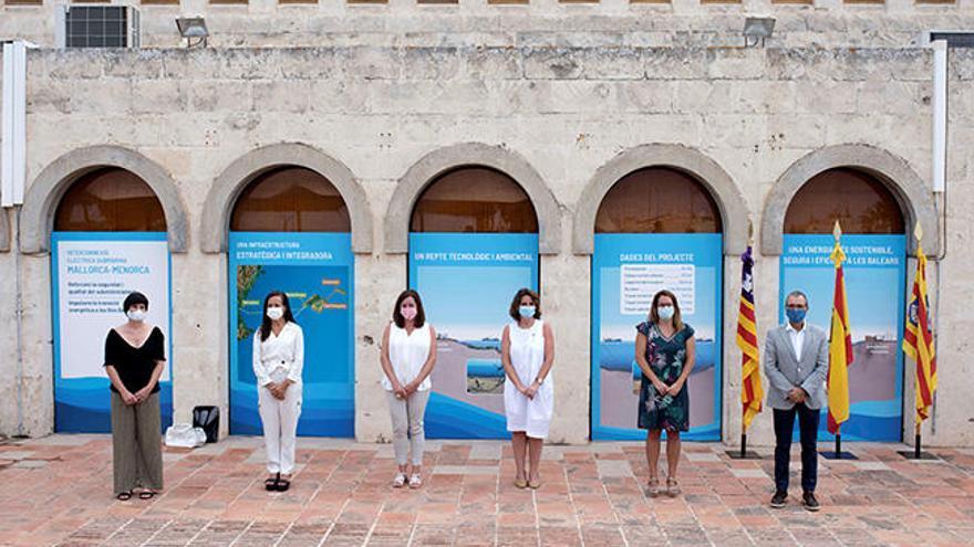 Inaugurado el enlace eléctrico entre Mallorca y Menorca