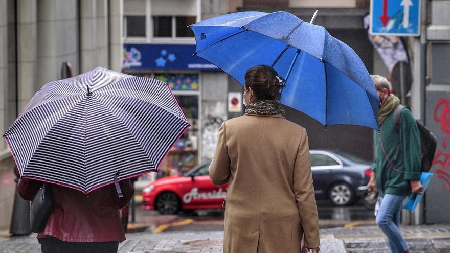 Lluvias en Canarias para la tarde de este lunes