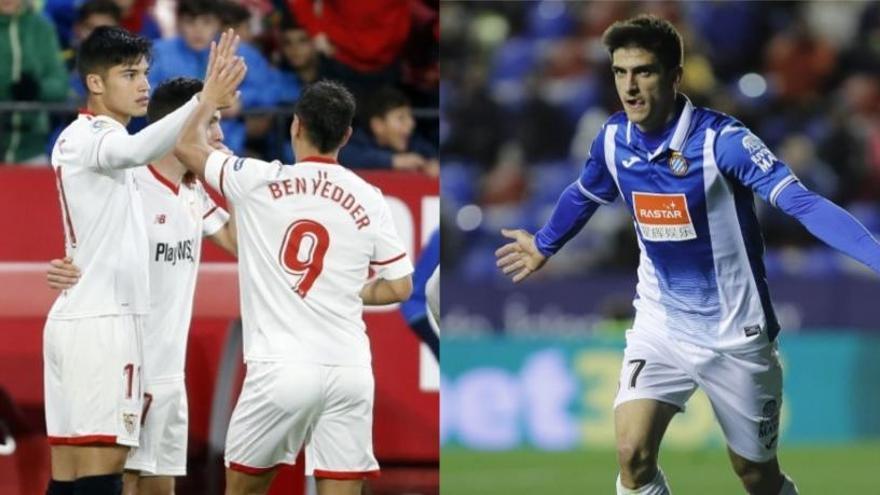 Sevilla y Espanyol avanzan a los cuartos de la Copa