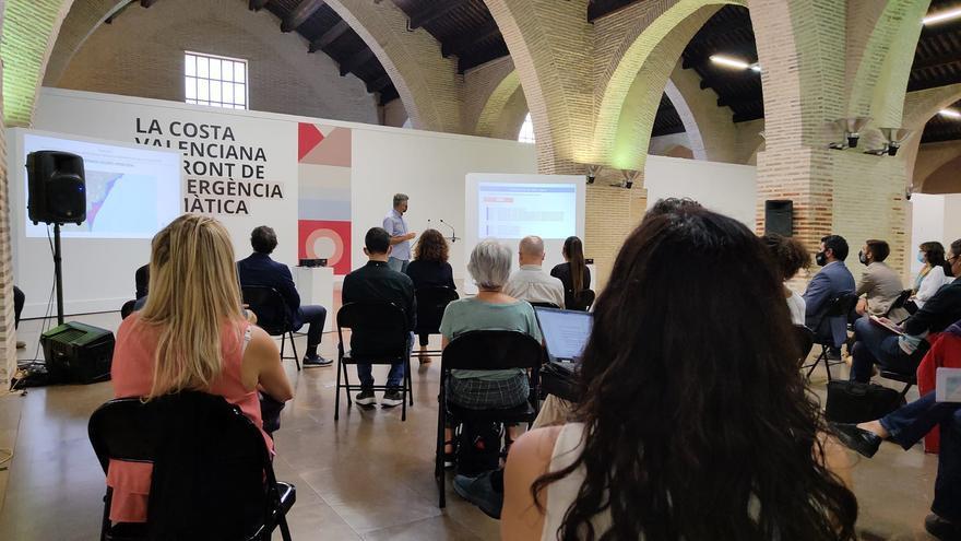 Una web anticipará en imágenes los efectos del cambio climático en la costa valenciana