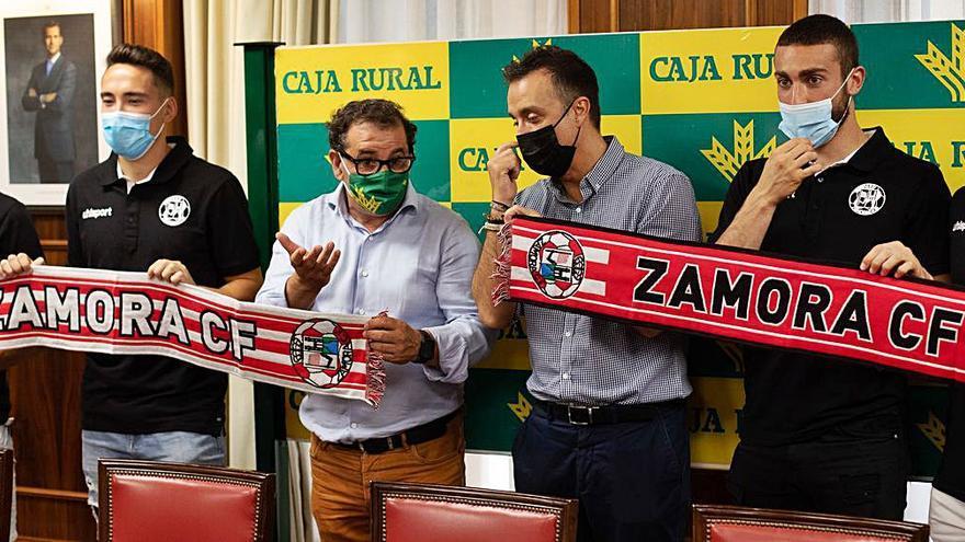 Caja Rural incrementa su ayuda al talento del Zamora CF