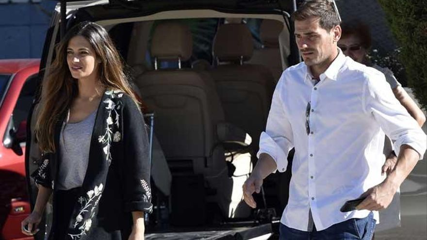 Sara Carbonero e Iker Casillas, juntos frente a las adversidades