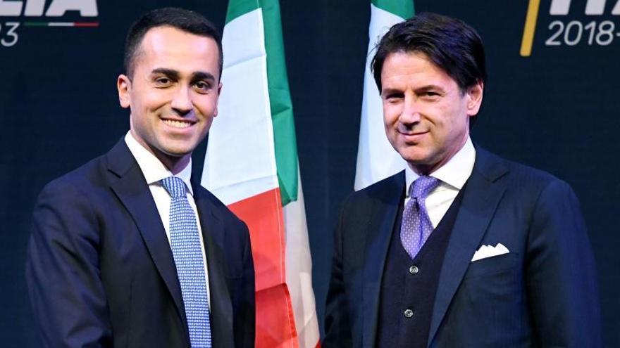 Conte anuncia el Consejo de Ministros de la coalición con Di Maio en Exteriores