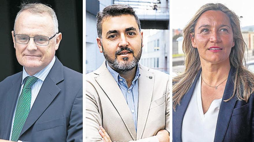 Diego Canga, Jonás Fernández y Susana Solís analizan las oportunidades de Asturias en Europa