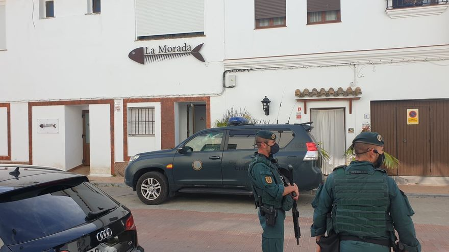 La Guardia Civil interviene ocho toneladas de hachís en Cádiz