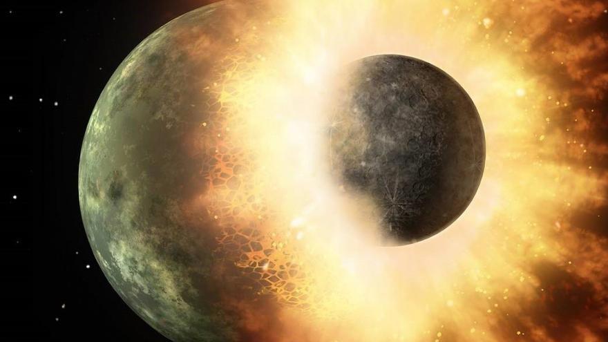 Repetidas colisiones de 'golpe y fuga' formaron planetas como la Tierra o Venus