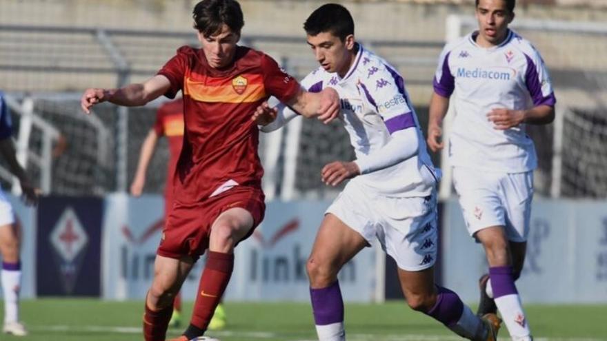 Jan Oliveras disputa un torneig amb la selecció espanyola sub-18