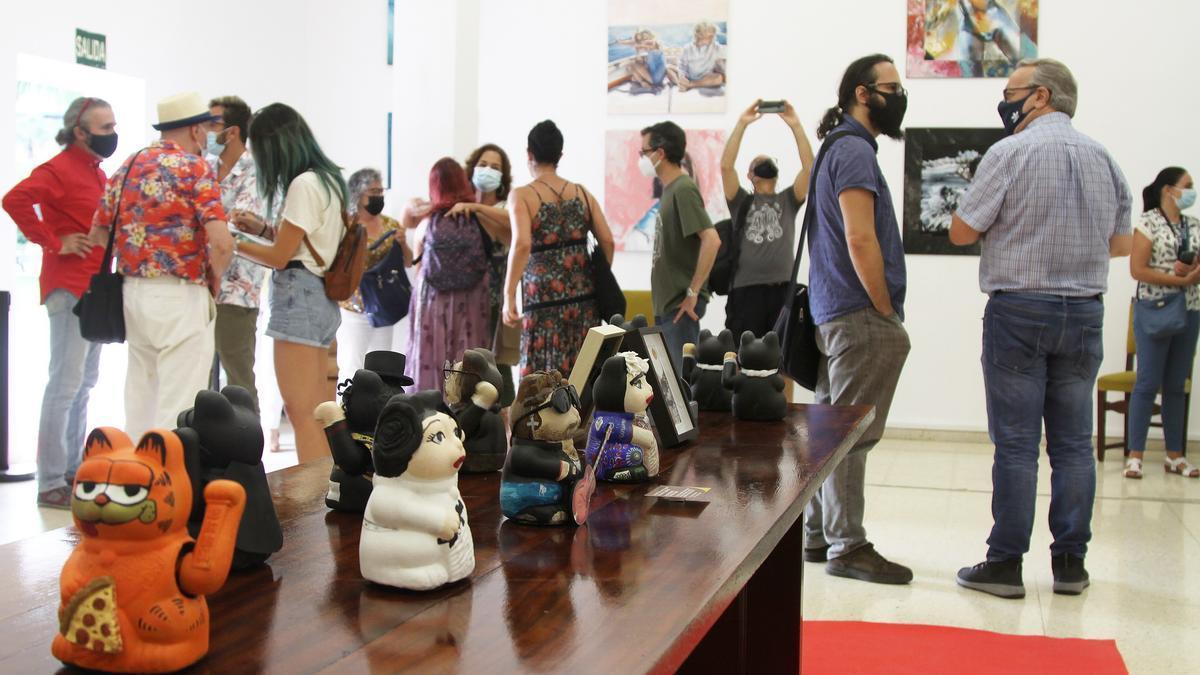 Una imagen de la exposición 'Encontronazos con el arte'.