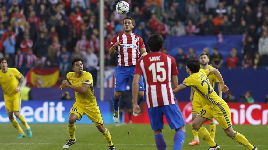 Griezmann rescata al Atlético de Madrid en el último suspiro