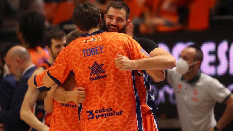 Semifinal entre el Valencia Basket y el Real Madrid