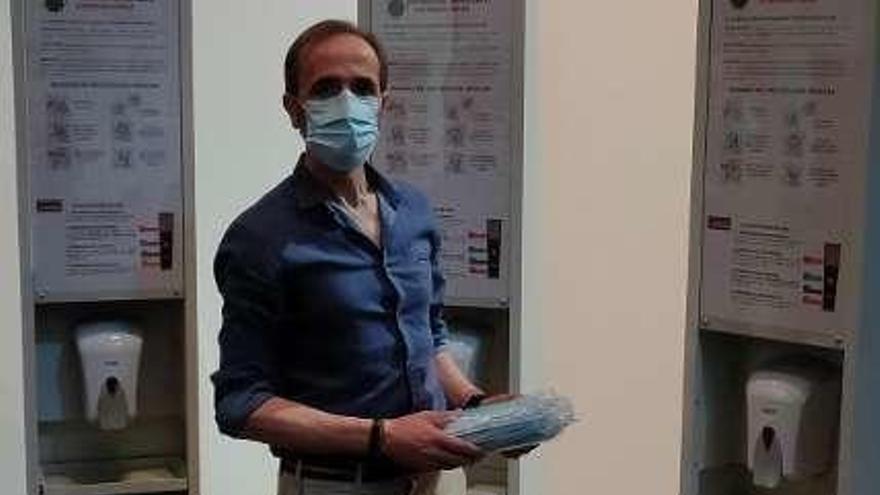La Diputación entrega mascarillas y apuesta por la prevención