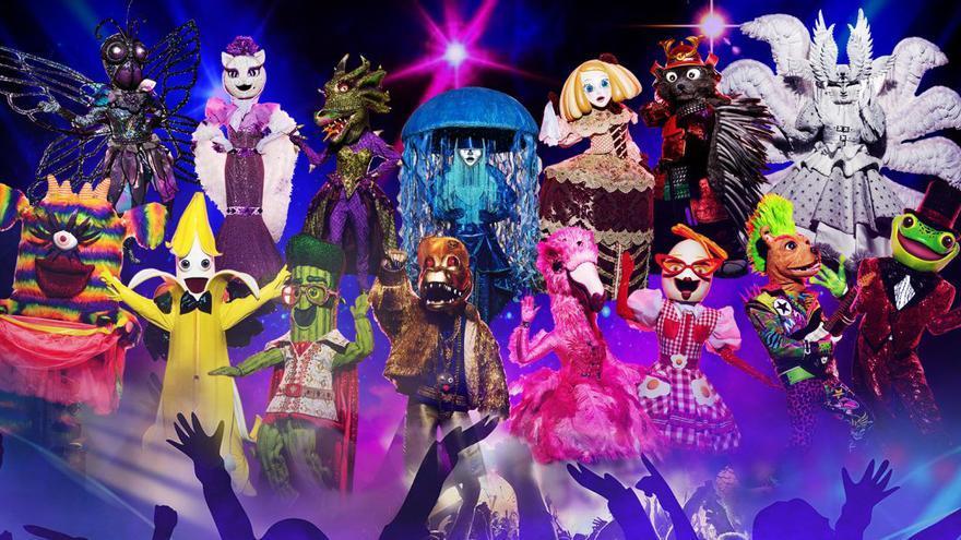 'Mask Singer 2': todas las pistas de los famosos que se esconden tras las máscaras