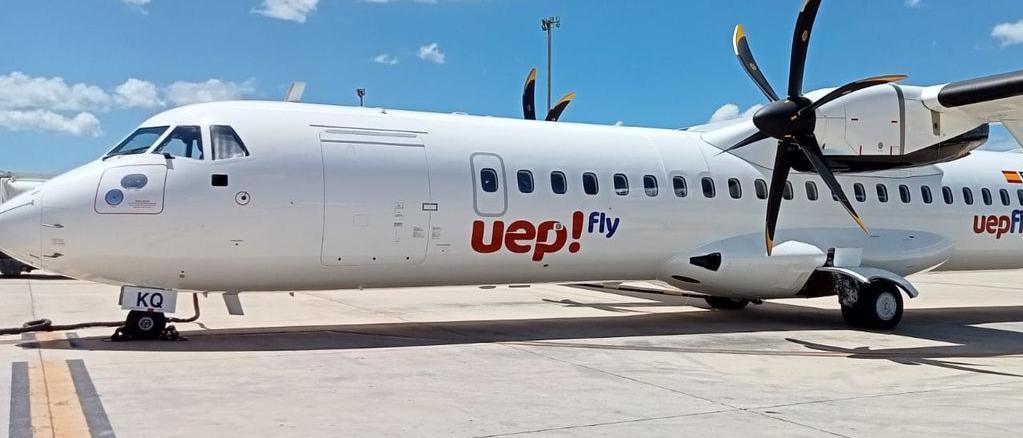 La compañía operará con tres aviones ATR 72