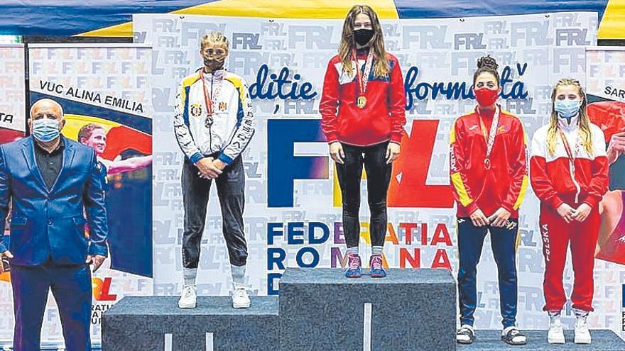Bronce de Carla Jaume en un torneo internacional en Rumanía