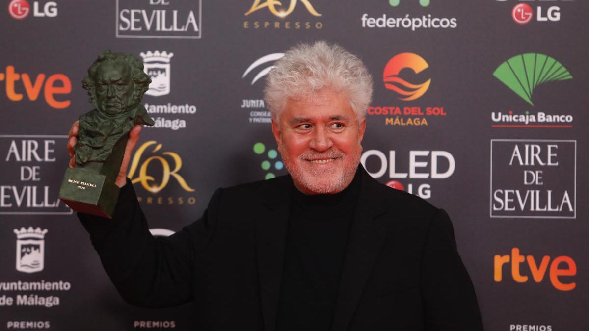Pedro Almodóvar, en la última edición de los Premios Goya