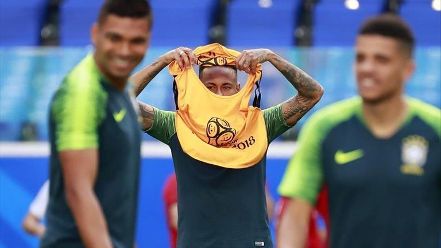 México busca dar la sorpresa ante la Brasil de Neymar