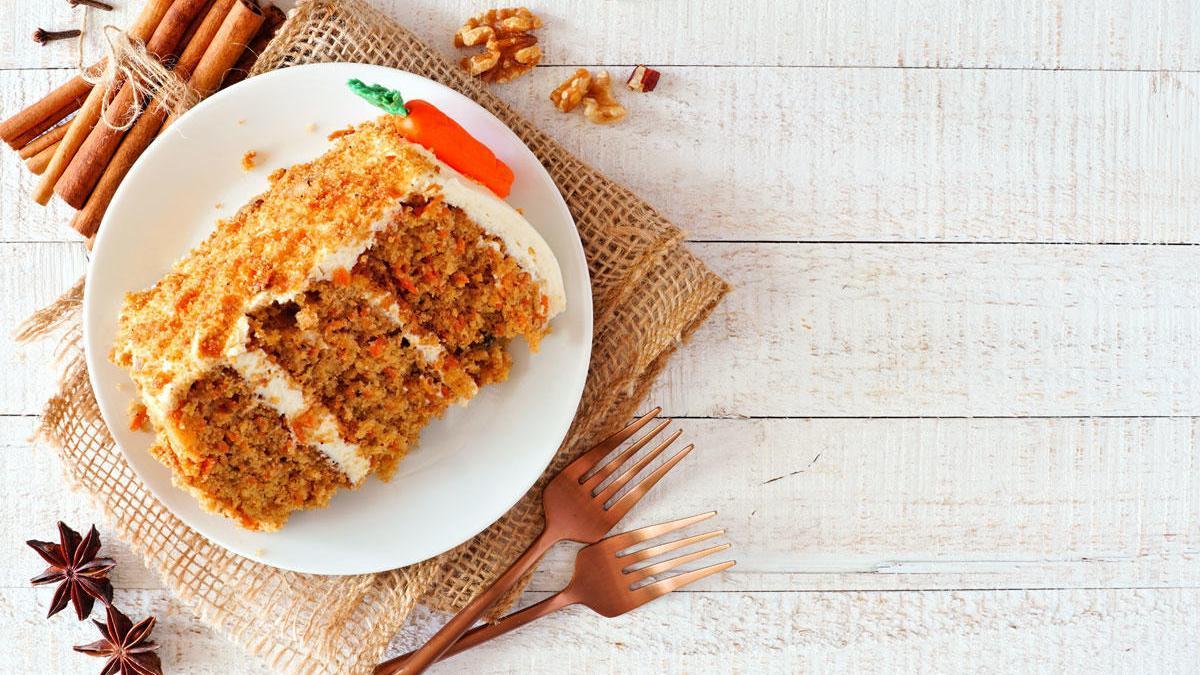 Cómo preparar un bizcocho de zanahoria en el microondas.