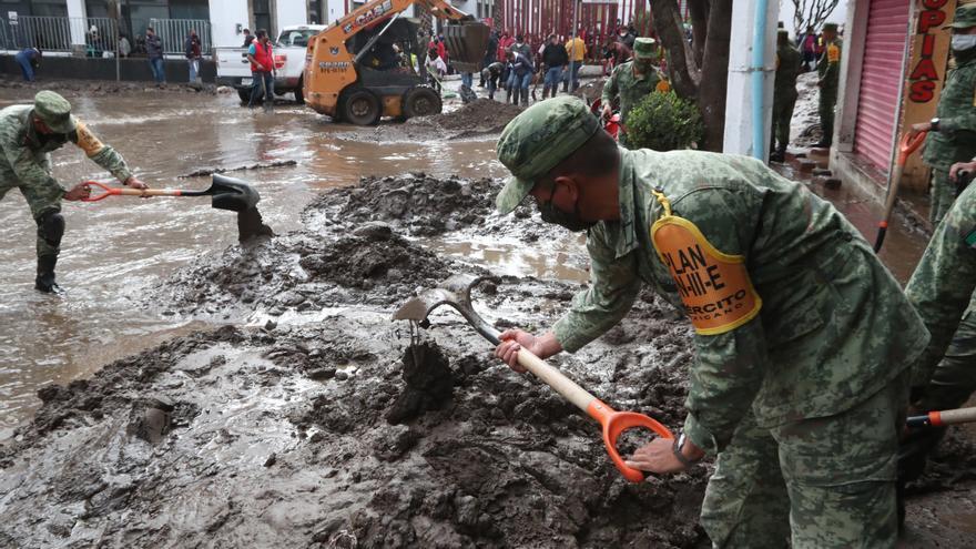Las inundaciones en una ciudad mexicana dejan 17 fallecidos