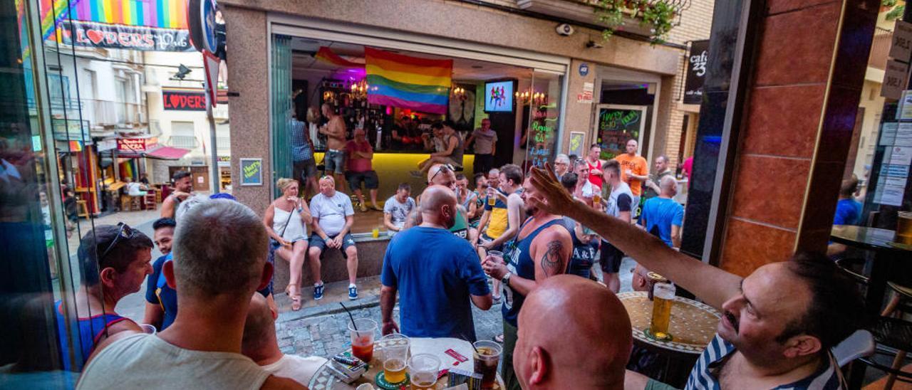 Imagen del Benidorm Pride en su pasada edición.