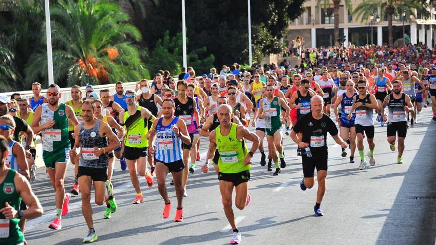 Las mujeres reinan en el Medio Maratón de Elche