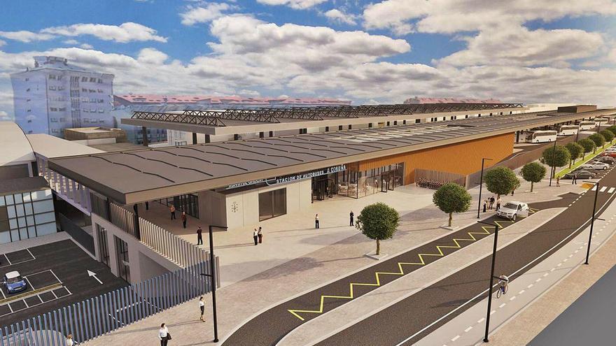 El proyecto de presupuestos de la Xunta de 2021 reserva 4,5 millones para iniciar la intermodal
