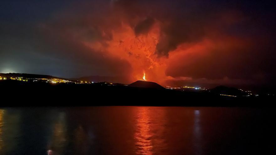 El volcán continúa en fase altamente explosiva