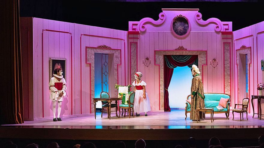 'La serva padrona', una ópera en clave feminista, llega al Teatre Principal
