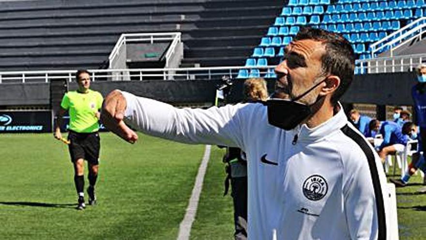Juan Carlos Carcedo: «Hubiésemos firmado poder acabar la primera fase con 40 puntos»