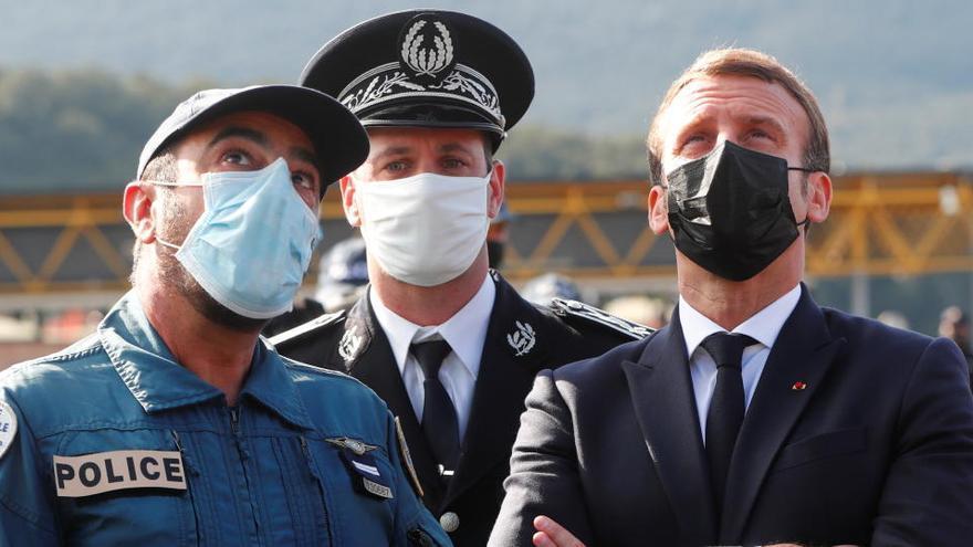 Macron apuesta por blindar el espacio Schengen ante la amenaza terrorista