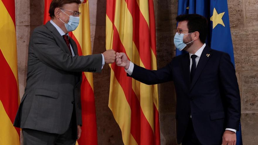 Aragonés comparte la preocupación de Puig por la infrafinanciación pero descarta entrar en la negociación