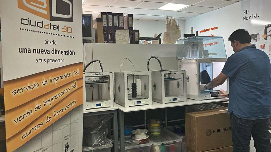 Rabanales 21 acoge un centro de impresión 3D