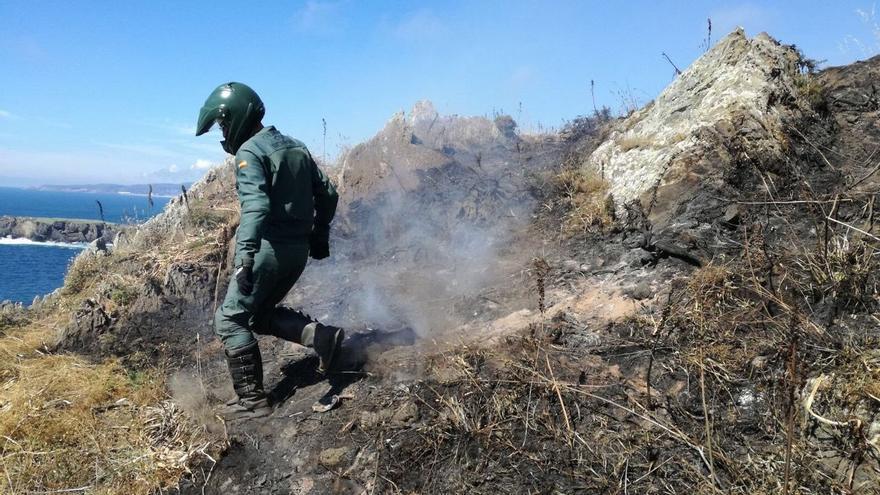 Satélites y redes sociales, aliados de la Guardia Civil contra los incendios