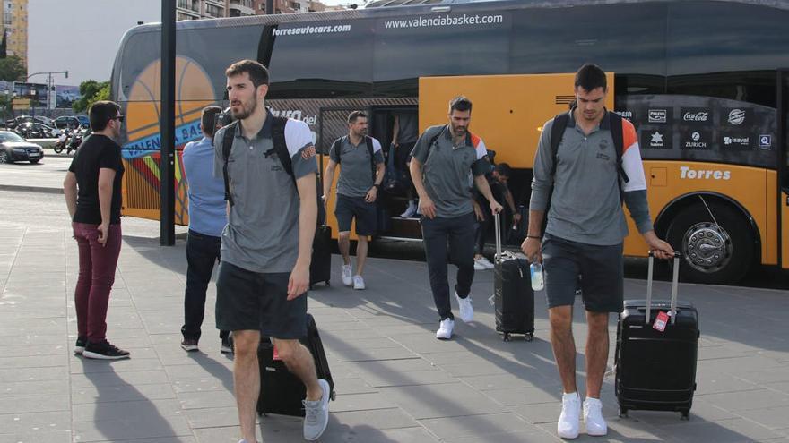 El Valencia Basket, contra el Madrid y frente a los elementos