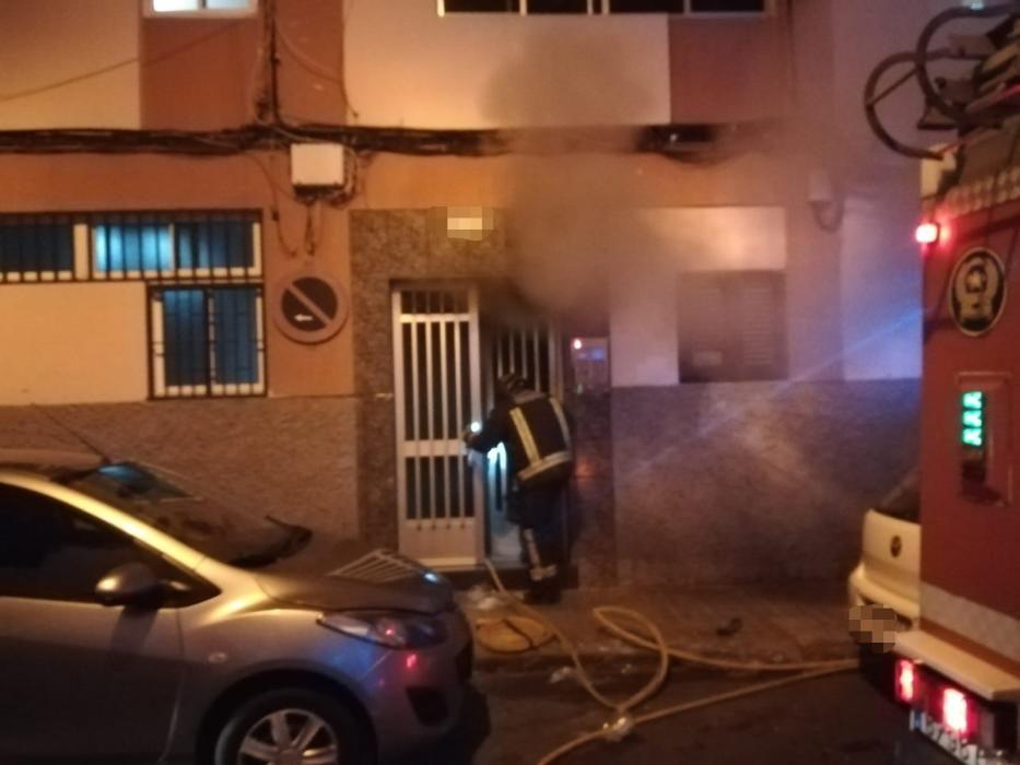 Arde una casa en Schamann