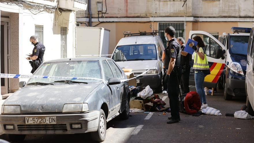 Detenidos tres hermanos en Valencia por matar a un vecino a machetazos durante una riña