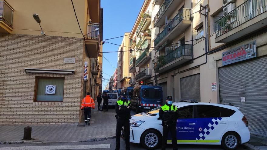 Casellas celebra el quart trimestre consecutiu de descens de delictes a Figueres