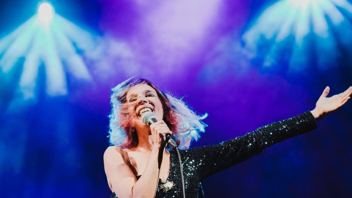 Dulce Pontes actúa este jueves en el Auditorio de Zaragoza.