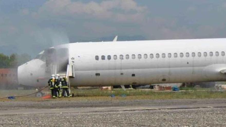 So lief die Probe für den Ernstfall an Mallorcas Flughafen