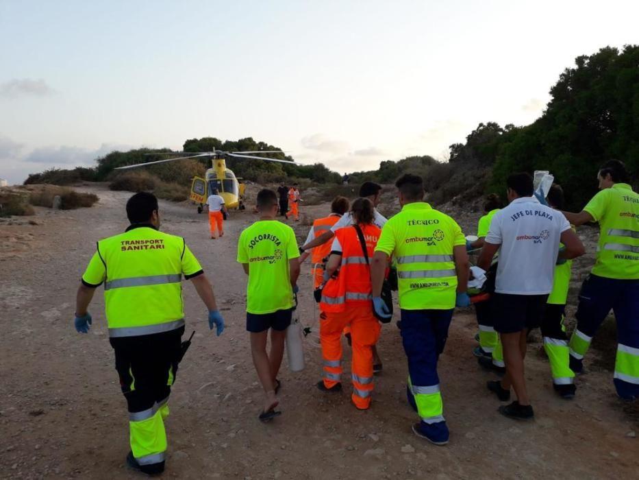 Un joven inglés muerto y otro grave al caer del paseo marítimo en Alicante