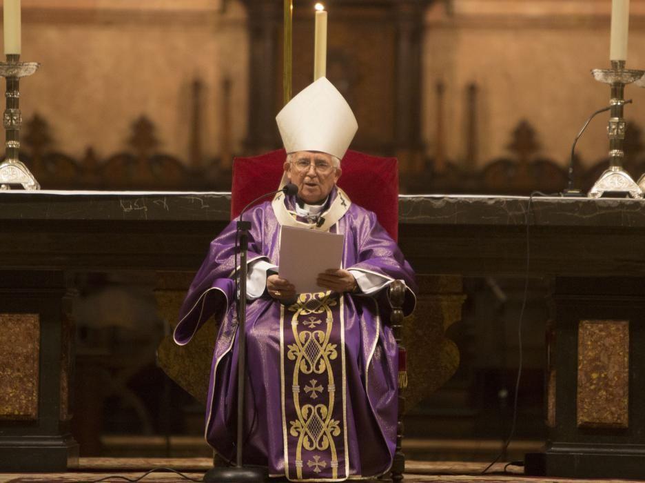 La misa fue oficiada por el cardenal Cañizares.