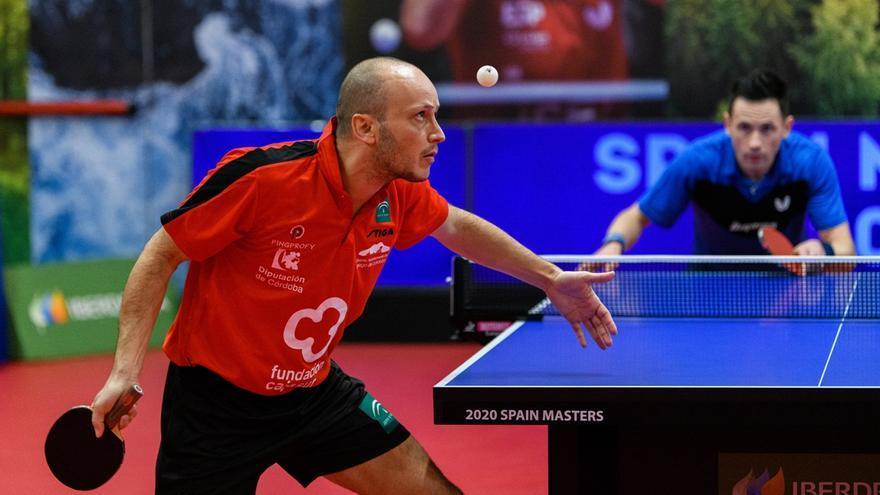 Carlos Machado cae en su estreno en el cuadro individual del Campeonato de España