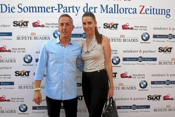 Corinna Moessner und Ramon Quibus