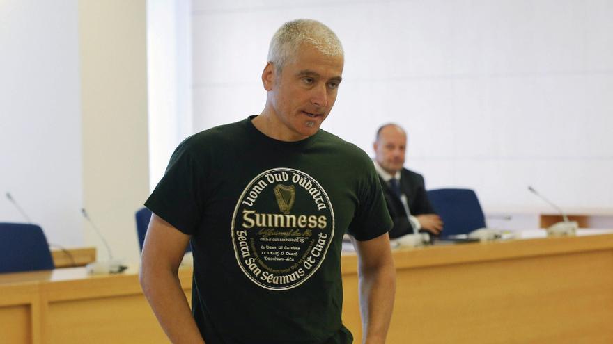 El exdirigente de ETA Javier García Gaztelu, Txapote, en la Audiencia Nacional.